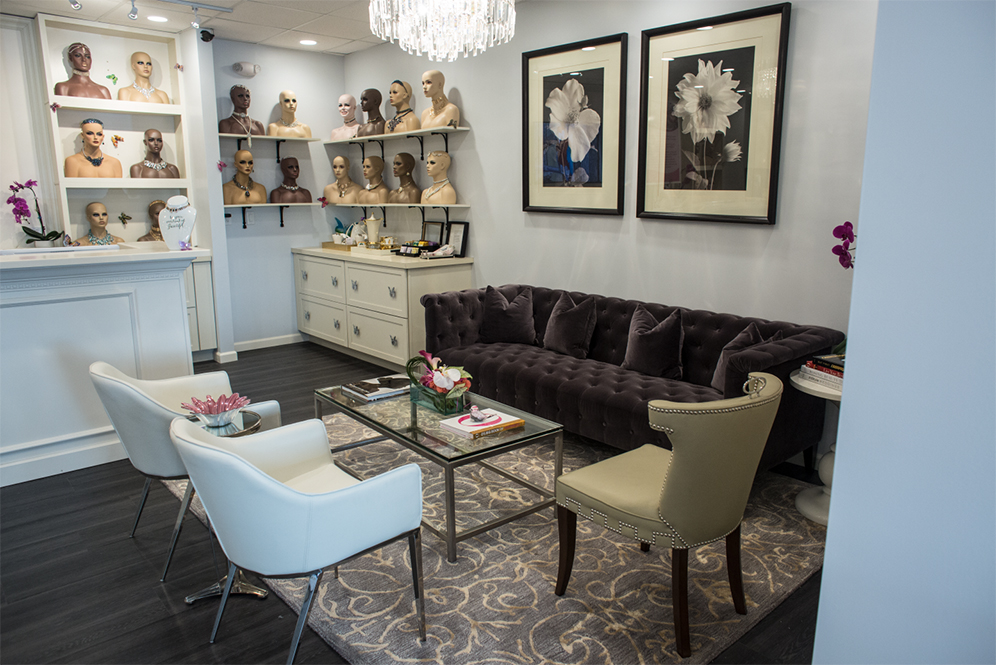 hair salons with private rooms near me